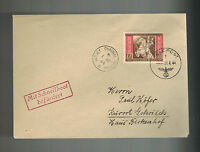 1944 Occupied Jersey Channel Island England Feldpost Cover to Germany via E Boat