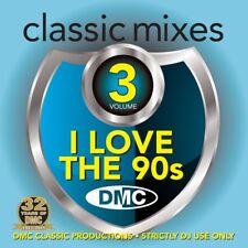 DMC Classic Mixes - I Love The 90s Megamix Vol 3 Mixed Music CD Nineties Tracks