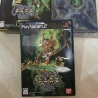 Bandai PS2 Golden Kight GARO NTSC-J Limited Edition Box Sony PlayStation 2