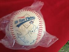 New*Promotional *Honda Hit Run Throw *Baseball Canada*Fake AUTOGRAPHED Baseball
