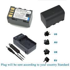 2x Battery BN-VF815 for JVC GZ-MG130 GZ-HD5 GZ-HD6 GZ-HD7 GZ-HD10 + Charger Kits