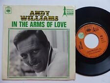 ANDY WILLIAMS In the arms of love 2369  FRANCE Discotheque RTL
