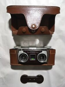 Vintage 1954-1959 Kodak Stereo Camera With Original Case