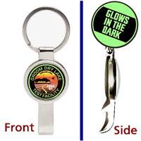 Area 51 Groom Lake Glow In The Dark Pendant or Keychain secret bottle opener