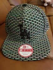 Dodgers New Era Snapback Cap Hat NYC16 Black/ multi Green Pink msrp:$38.00...