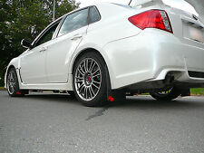 Subaru WRX or STI Sedan Rally Mud Flaps, 2011-2014, '11, '12, '13, '14 RokBlokz