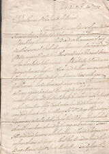 1793 letter from John Houghton Porto Cavello to Junto of Marine/ ship Brig Maria