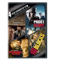 LOT OF 4 ACTION dvds Cops 2013 dvd set PRIDE & GLORY 16 Blocks TRAINING DAY NEW