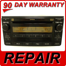 REPAIR SERVICE ONLY TOYOTA SCION AM FM Radio Stereo 6 Disc Changer CD Player OEM