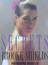 Brooke Shields/SECRETS/Liu Miseki/JPN Large-sized book 1993!!!