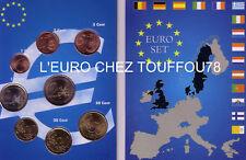 Serie des 8 pièces du Luxembourg 2010, neuve.