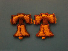 "LIBERTY BELL, 1"", EMBROIDERY APPLIQUE PATCH EMBLEM LOT (162 DOZEN)"