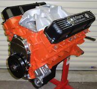 MOPAR DODGE 440 - 505 HORSE COMPLETE CRATE ENGINE/PRO-BUILT/ 413 426 528 NEW BBM