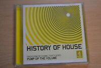 HISTORY OF HOUSE     DOUBLE CD   VARIOUS ARTISTS  4 MUSIC