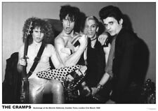 THE CRAMPS - VINTAGE MUSIC PHOTO POSTER - 23x33 UK IMPORT 52884