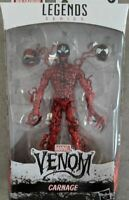 Marvel Legends Venom Venompool  BAF Carnage 6 Inch Action Figure IN STOCK NOW
