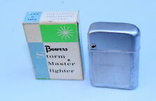 Vintage 1950's Bowers STORM MASTER Lighter GE General Electric w Box