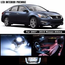 12PCS Cool White LED Bulbs Interior Package For 2007 - 2015 Nissan Altima