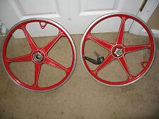 Lester mag BMX bicylce wheels rims bendix vintage