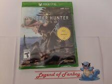 * New * Monster Hunter World - Xbox One * Sealed Game * USA Region Free