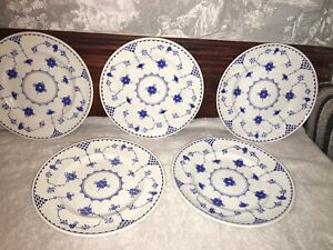 """JOHNSON BROTHERS BLUE DENMARK 8"""" SIDE TEA SALAD PLATE SOLD INDIVIDUALLY"""