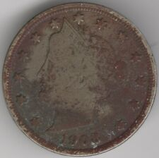 More details for 1908 usa liberty nickel 5 cents | world coins | pennies2pounds