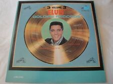 ELVIS PRESLEY ELVIS' GOLDEN RECORDS VOLUME 3 VINYL LP ALBUM 1963 RCA VICTOR MONO