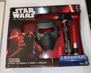Disney Star Wars The Force Awakens Bladebuilders Kylo Ren Lightsaber & Mask Toy