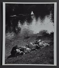 Willy Ronis Limited Edition Photo Print 30x35 Le Perreux France 1947 B&W SW Art