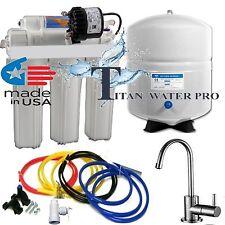 RO Reverse Osmosis Water Filter System - Permeate Pump ERP 1000 - 100 GPD BN