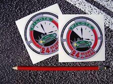 24 heures Du Mans classic LeMans Pilot Stickers Endurance Series Road Race 24hr