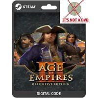 Age of Empires III Definitive Edition Codice Download Digitale Key PC Steam