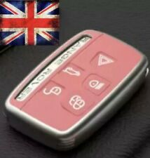 PINK Protective Key Cover Case for Range Rover Evoque Discovery Landrover Sport