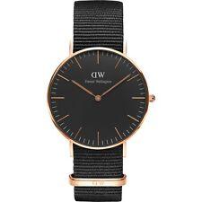 BRAND NEW Daniel Wellington Classic Cornwall Black Unisex Watch DW00100150