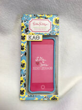 NEW Lilly Pulitzer Kappa Alpha Theta Iphone 5 Cover Blue Yellow KAO