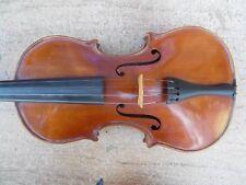 ANCIENNE 4/4 Violon Neuner Hornsteiner Mittenwald 1896 Violin Violon restauré