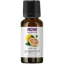 NOW® 100% Pure & Natural Grapefruit Oil - 1 oz, Clearance for stained label