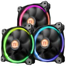 Thermaltake Riing 12 RGB 120mm High Static Pressure LED Radiator Fan (3-Pack)