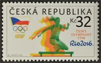 Tschechische Republik 2016 Nr. 889 Olympische Sommerspiele in Rio de Janeiro