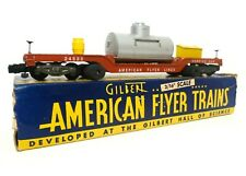 AMERICAN FLYER VINT 1956 TRACK CLEANING SERVICE CAR #24533 3/16 SCALE W/ORIG BOX