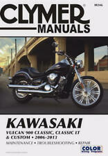 2006-2013 Kawasaki Vulcan VN 900 VN900 Classic Custom CLYMER REPAIR MANUAL M246