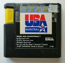 Team Usa Basketball de vídeo juego para Sega Mega Drive Probado