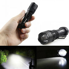 Focus 9000LM CREE T6 3Mode Zoomable LED Flashlight Torch Super Bright AA/14500 m