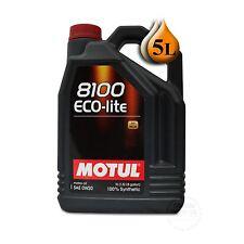Motul 8100 Eco-Lite 0W-20 5LB
