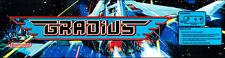 "Vs Gradius Nintendo Arcade Marquee 22.3"" x 5.8"""