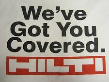 HILTI  T-SHIRT ((SIZE M)) (SHORT SLEEVE), BRAND NEW, FAST SHIPPING