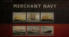 2013 Royal Mail Merchant Navy including Mini Sheet Presentation Pack No 489