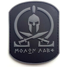 MOLON LABE WARRIOR 3D PVC RUBBER MORALE BADGE TACTICAL HOOK LOOP PATCH #4