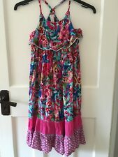 Monsoon Bnwt Girls Beautiful Summer Dress Age 7-8 Years