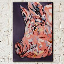 Porky Pig Sam Fenner 8x12 inch Decorative Ceramic Tile Wall Picture Art 05952